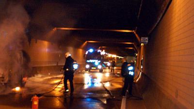 Verkeerschaos op A10 West Amsterdam door incidenten in Coentunnel
