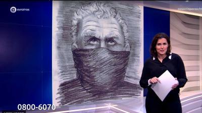TV-kijkers 'herkennen' Peter R. De Vries in compositietekening aanrander