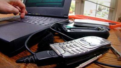 Foto van hacker op computer internet | Archief EHF