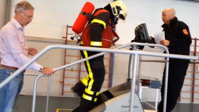 'Conditietest bij de brandweer is veel te zwaar'