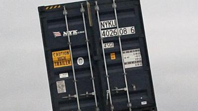 Drugslab aangetroffen in zeecontainers