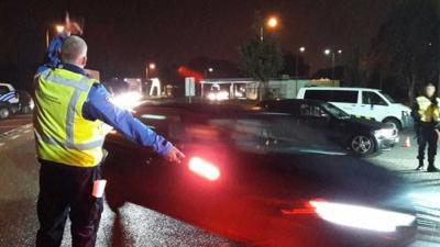 Internationale grenscontrole Zuid-Limburg, 400 voertuigen gecontroleerd