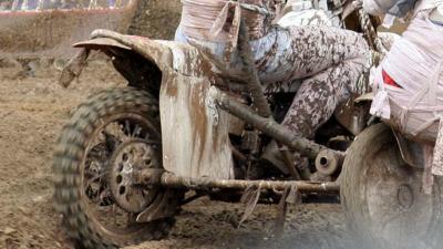 Motorrijder overleden crosscircuit Vennebulten