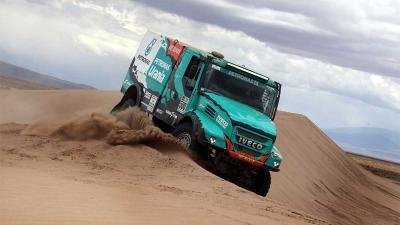 De Rooy aan kop tweede week Dakar in