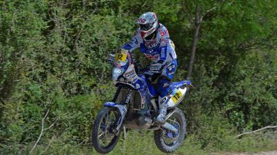 Dakar Rally voor Frans Verhoeven   Yamaha