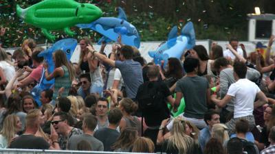 dance festival, vogelvrij, fort Amstelhoek