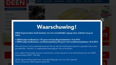 Foto van screenshot website DEEN | DEEN