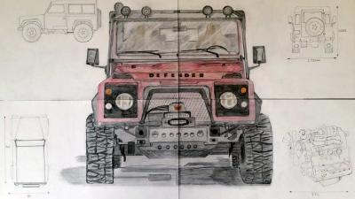 Land Rover Defender blijft erg gewillig