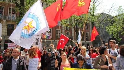 Demonstratie tegen Erdogan | BON
