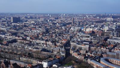 Sky line Den Haag
