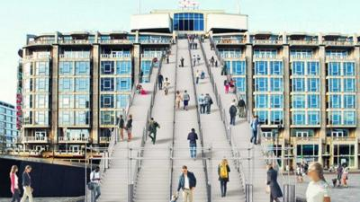 'De Trap' in Rotterdam officieel geopend voor publiek