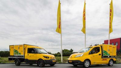 DHL breidt City Hub voor groene stadsdistributie uit met elektrische Cubivan