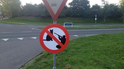 Foto van verkeersbord | Dierenbescherming