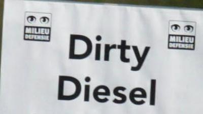 Actie tegen vuile diesel