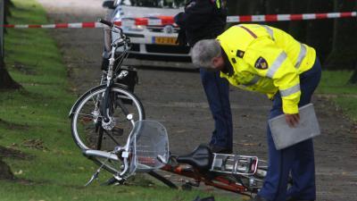Foto van fiets ongeval politie | Archief EHF