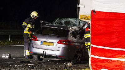 Dode bij ongeval A50