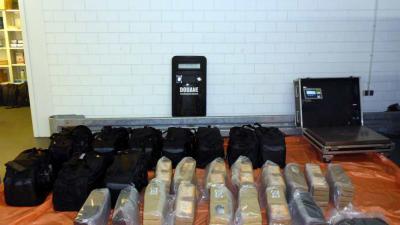 Douane onderschept ruim 500 kilo cocaïne