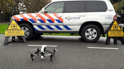 Politie vliegt vanaf vandaag met drones