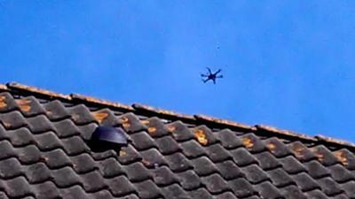 Stijgend aantal meldingen van gecrashte drones