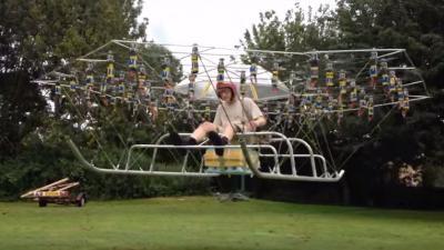 Maak je eigen helikopter met rits drones