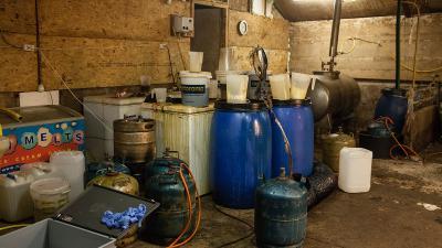 drugslab in Vroomshoop