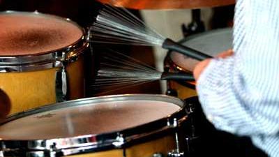 Foto van drumstel jazz muziek | Archief EHF