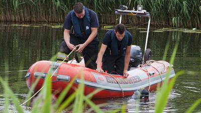 Foto van duiker brandweer boot | Sander van Gils | www.persburosandervangils.nl