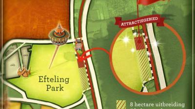 Efteling wil meer ruimte voor nieuwe attracties