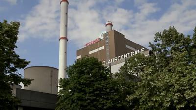 Foto van Claus C centrale Maasbracht | Essent/RWE