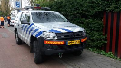 Wagen Explosieven Opruimingsdienst Defensie