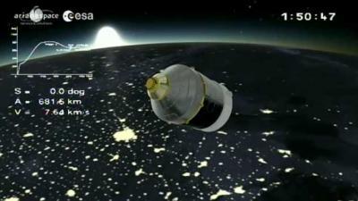 foto van ESA-astronaut Luca Parmitano   ESA