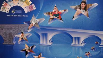 Foto van eurobiljetten   ECB