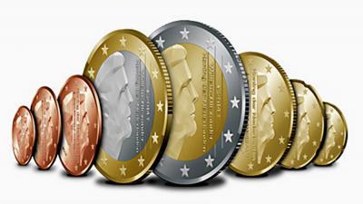 Foto van euro munten koning Willem-Alexander | Koninklijke Nederlandse Munt