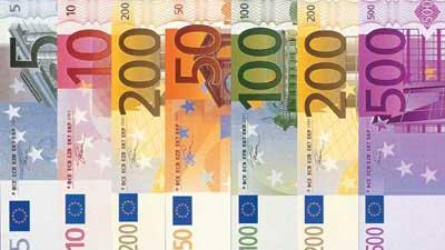 Foto van eurobiljetten | Archief EHF