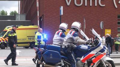 Evacuatie van 339 patiënten VUMC
