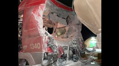 explosie-meel-vrachtwagen