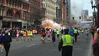 Foto van aanslag bij marathon Boston | Divers