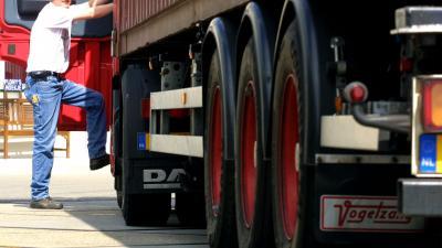Foto van vrachtwagen   Archief FBF.nl