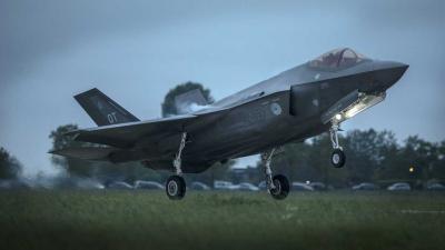 Geluidsoverlast nieuwe F-35 gevechtsvliegtuig niet erger dan van F-16