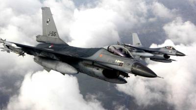 Jachtvliegers gooien bommen op Vlieland