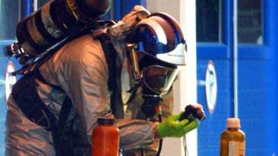 Foto van onderzoek chemische stoffen in woning | Archief EHF