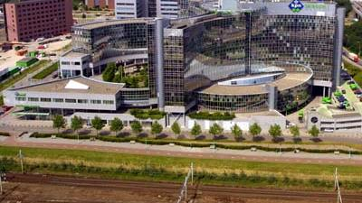 Foto van hoofdkantoor KPN Amsterdam | Archief EHF