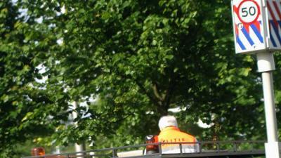 Foto van flitspaal boete snelheid | Archief EHF
