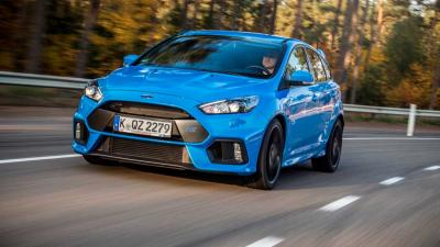 Eerste Ford Focus RS van band gerold