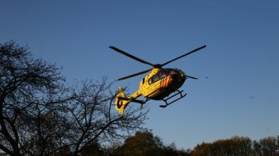 Traumahelikopter ingezet bij incidend