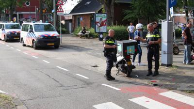 Foto van aanrijding in Schiedam