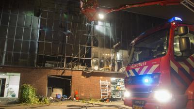 Brand verwoest garagebox Schiedam