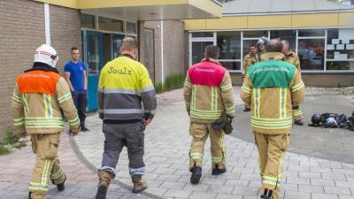 Einde partijtje schoolvoetbal na gaslek in Vlaardingen