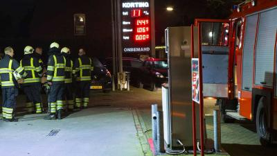 Sissend geluid bij LPG-tank onbemand tankstation in Liempde