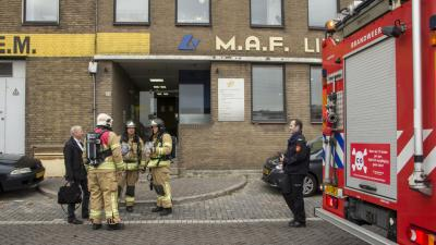 Gaslucht in bedrijfspand in Vlaardingen